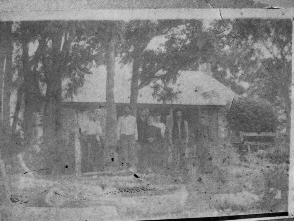 Earliest known photo of the home of James and Isabella Wood